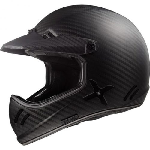 ΚΡΑΝΟΣ MOTOCROSS LS2 XTRA MX471 CARBON ΜΑΤ