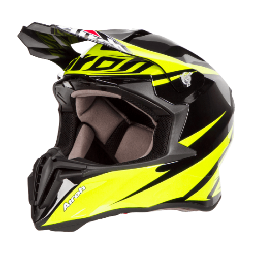 ΚΡΑΝΟΣ MOTOCROSS AIROH MX TWIST FREEDOM FLUO