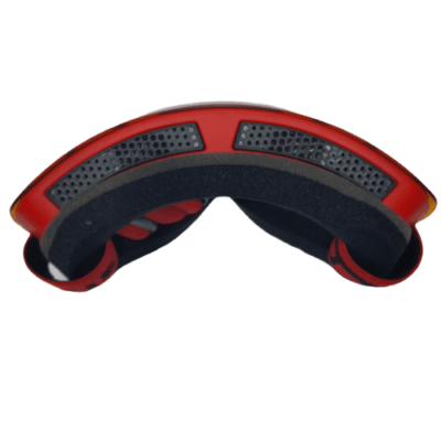 jie polly full frame mask red top