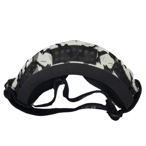 mask black white top