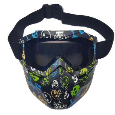 mask skull front