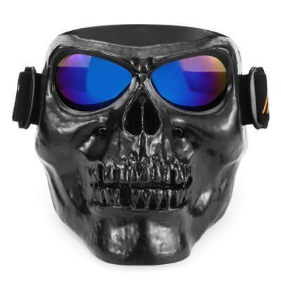 mask skull iridium