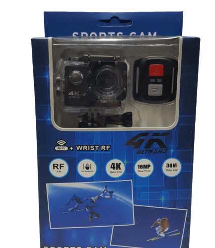 SPORTS ACTION CAMERA 16MP WIFI ΜΕ ΤΗΛΕΧΕΙΡΙΣΜΟ OEM