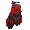 gloves fox red black front