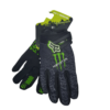 gloves monster black front