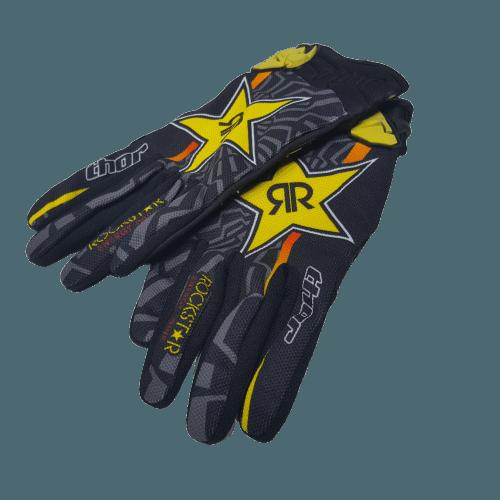 gloves rockstar show