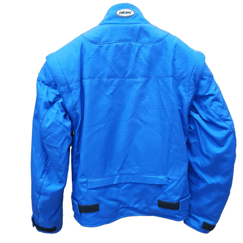 jacket colori LIGHT blue back