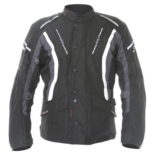 jacket ixs taranis black backwhite