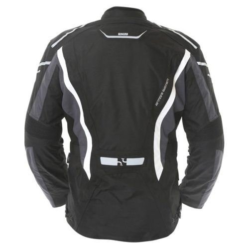 jacket ixs taranis black backwhite back