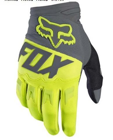 ΓΑΝΤΙΑ MOTOCROSS FOX DIRTPAW 2017 FLUO-ΓΚΡΙ XL